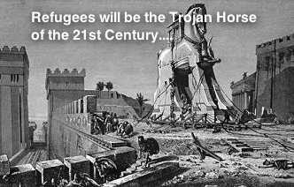 Troyan horse immigrants