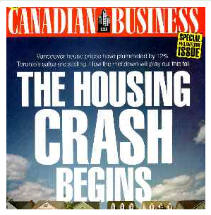 housing crash canada