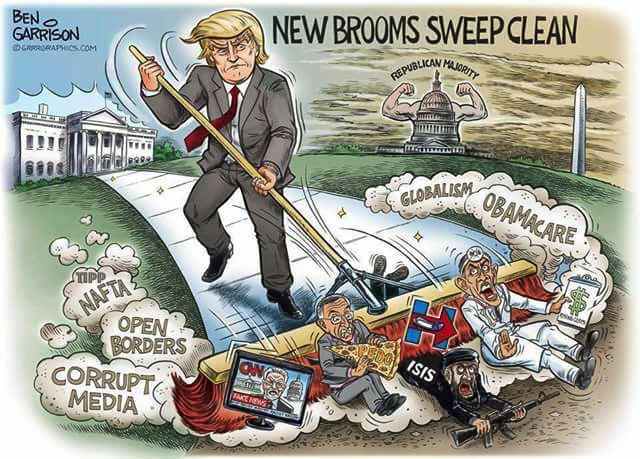 new brooms