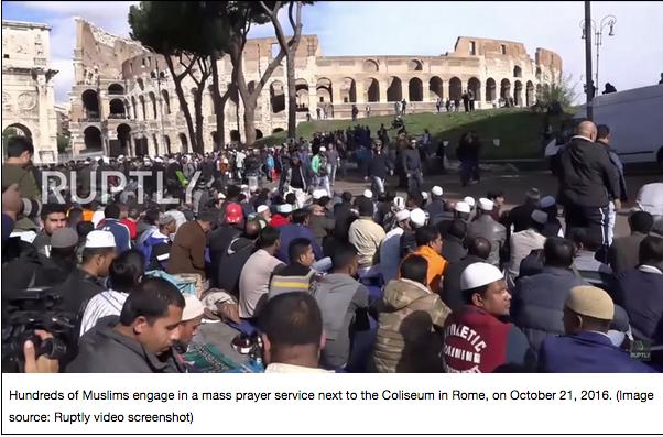 rome muslims