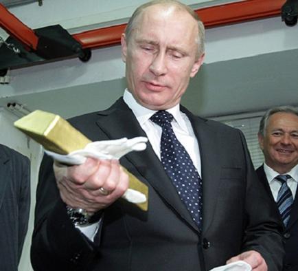 Putins gold