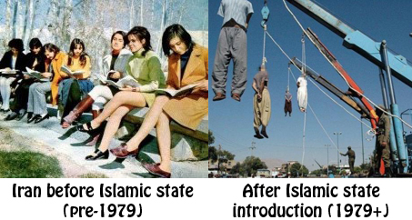 iran before 1979 and now