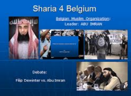 sharia for belgium