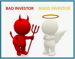 good and bad investor