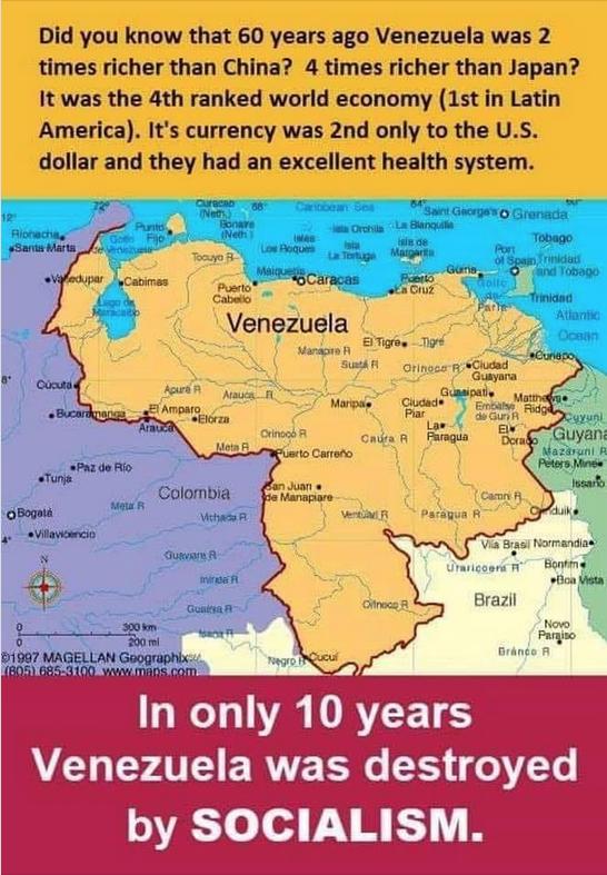 Venezuela ruin
