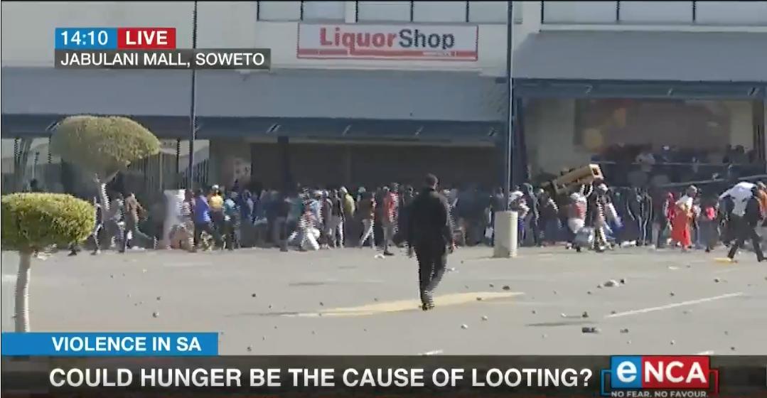SA looting 2021 07 12