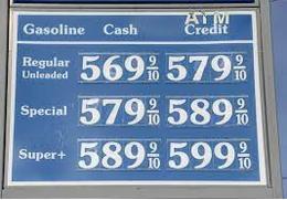 gas prices calif 2021 10 09