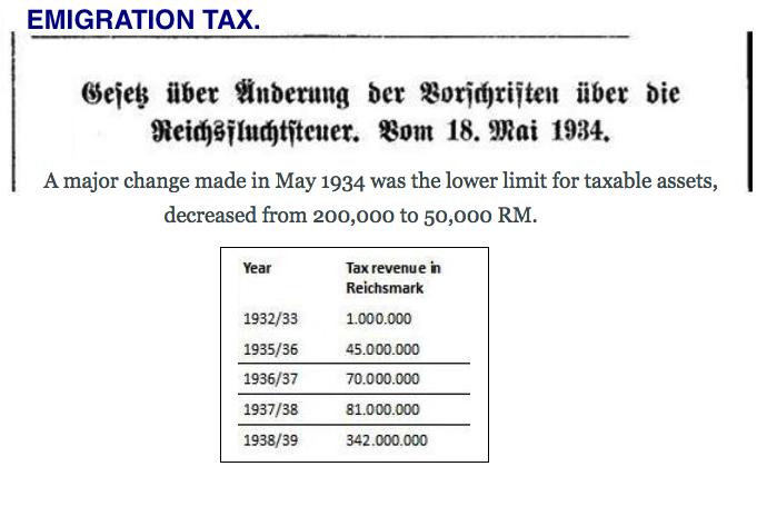 income emigration tax