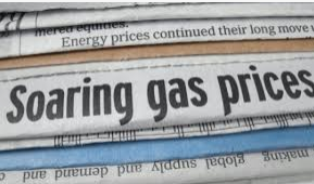 soaring gas prices 2021
