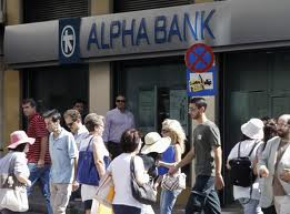 alpha bank run