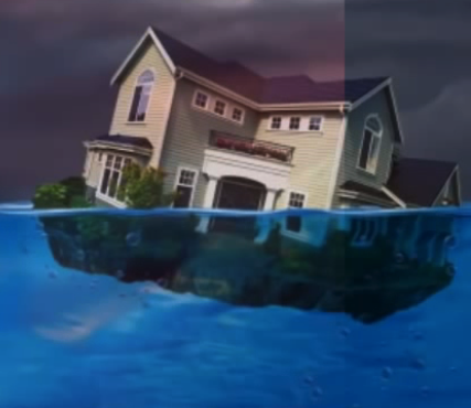 under water house